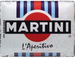 Blechschild 30X40 L´Aperitivo Racing Stripes